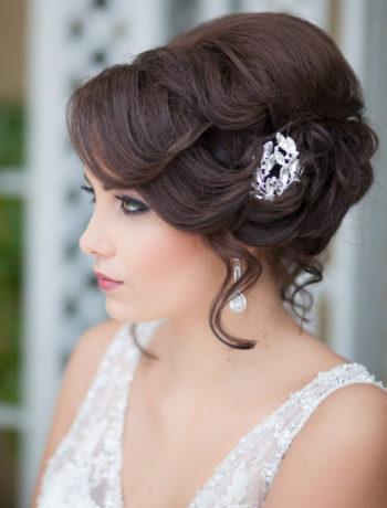 свадебные прически невесты