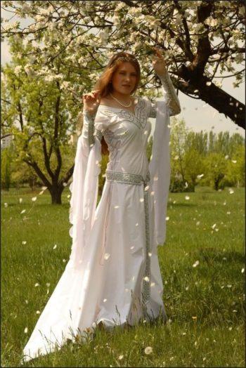 платье в кельтском стиле