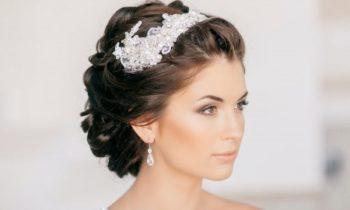 украшение волос для невесты