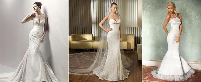 варианты свадебных нарядов