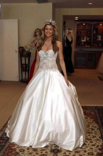 Свадебное платье Дженнифер Дорфман