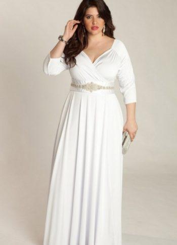 платье для полных невест