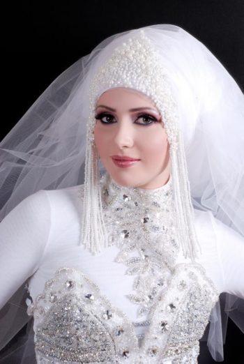 исламское свадебное платье