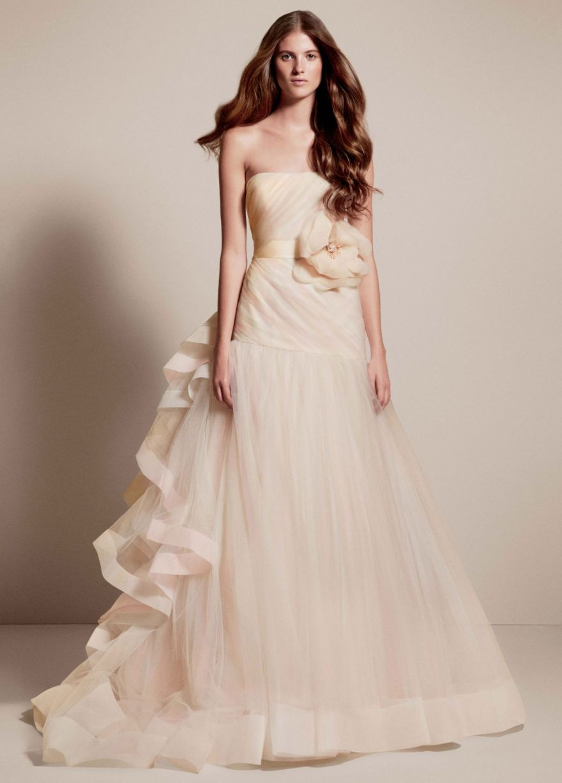 Фото свадьбы платье шампань