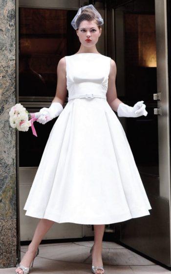 платье невесты 60-х годов