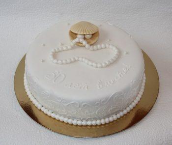 торт на 30 лет свадьбы