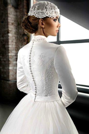 мусульманское платье на свадьбу