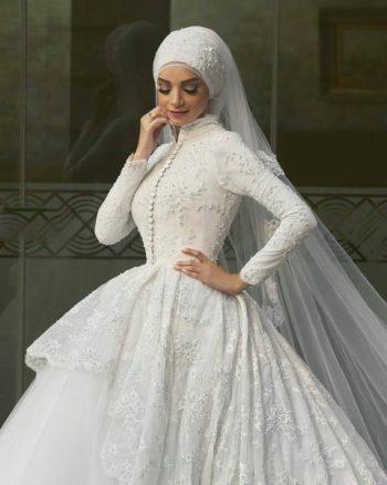 платье невесты для мусульманской свадьбы