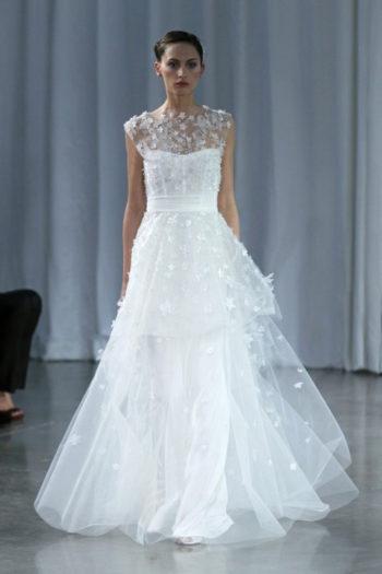 платье модельера Monique Lhuillier
