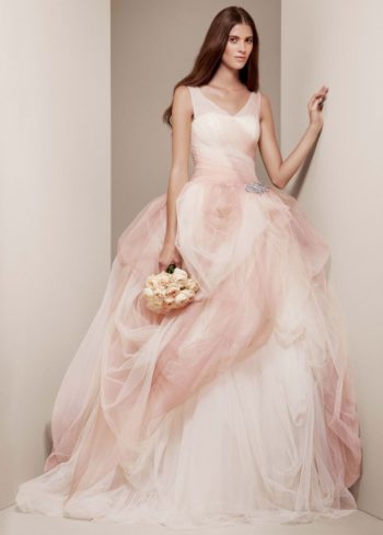 платье от Vera Wang