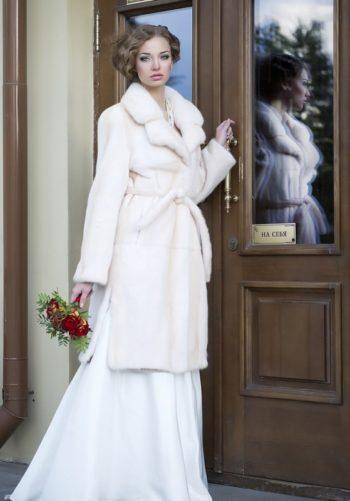шуба на свадебное платье
