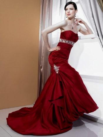 роскошное платье невесты