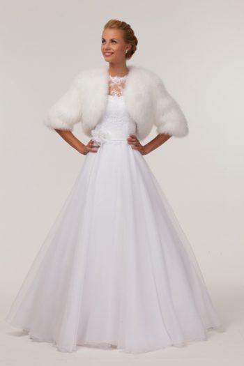 выбор идеальной накидки для свадебного платья