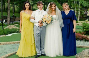 платье мамы жениха и невесты