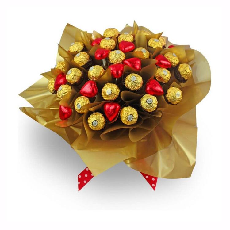 1221001 Свадебный букет из конфет своими руками: подробный мастер-класс!