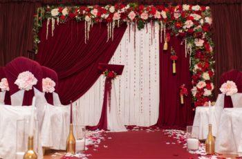 Цвет марсала – стильное решение оформления свадьбы