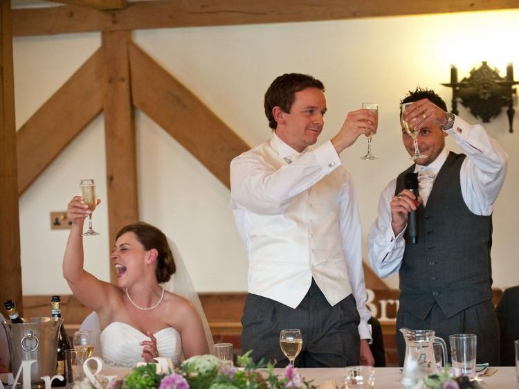 Прикольные поздравления от гостей на свадьбе