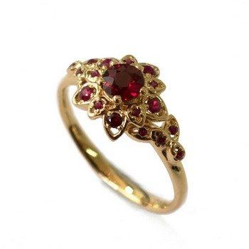 Обручальное кольцо с рубином мужское и женское: в чем разница?