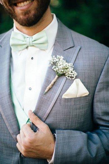Как подобрать жениху бабочку или галстук?