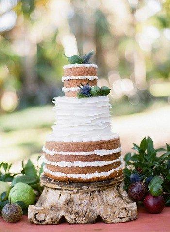 Вкусный и интересный торт на свадьбу своими руками