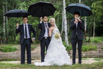 Красивые поздравления на свадьбу от свидетелей
