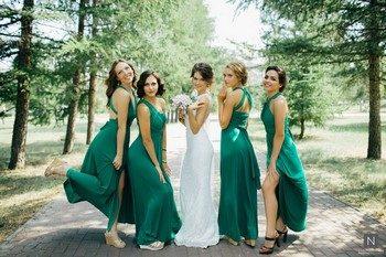 Как правильно выбрать платье для подружки невесты
