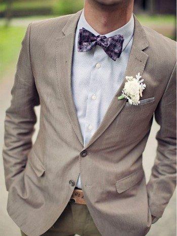 Какая лучше всего подойдет бабочка для жениха на свадьбу?