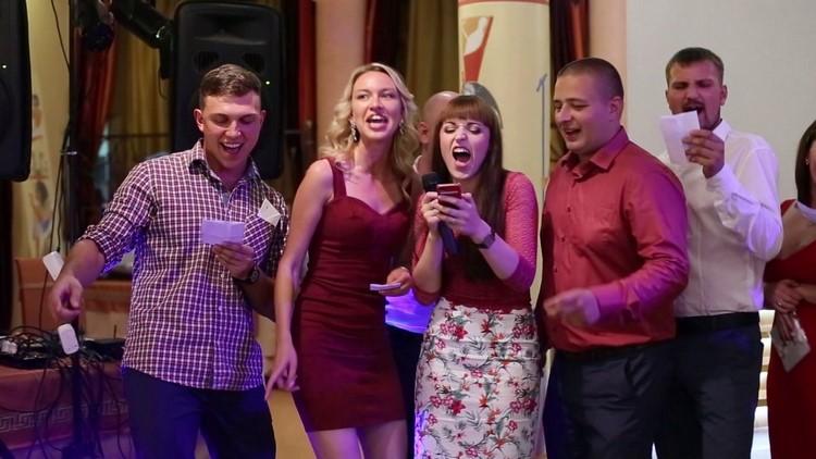 русских поздравления на свадьбу прикольные с видео один трахает
