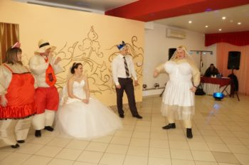 Поздравительные сценки на свадьбу