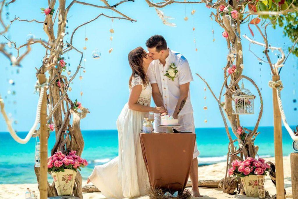Фото молодоженов кубинской свадьбы