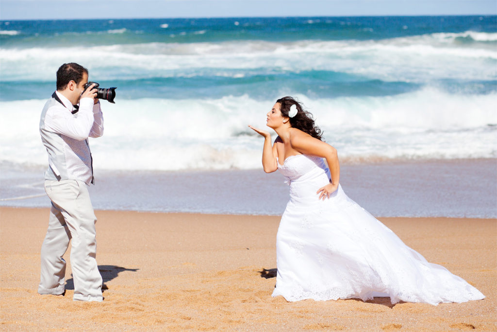 Фотосессия на кубинской свадьбе