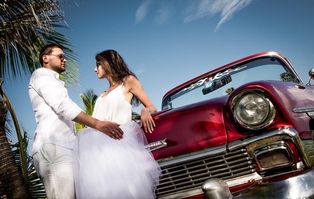 Место празднования свадьбы на Кубе