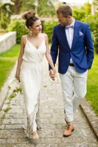 Наряд супругов на пятнадцатую годовщину
