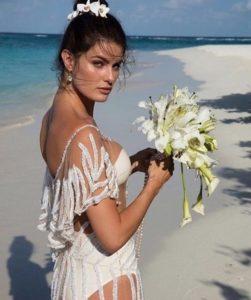 Образ невесты на Мальдивах