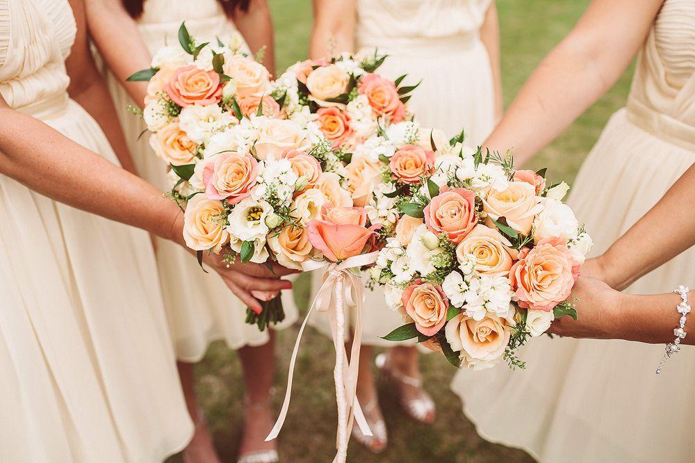 Оформление свадеб в персиковом цвете