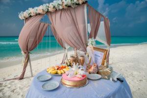 Подготовка к свадьбе на Мальдивах