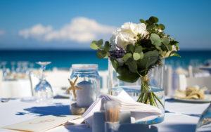 Подготовка к свадебной церемонии на Мальдивах