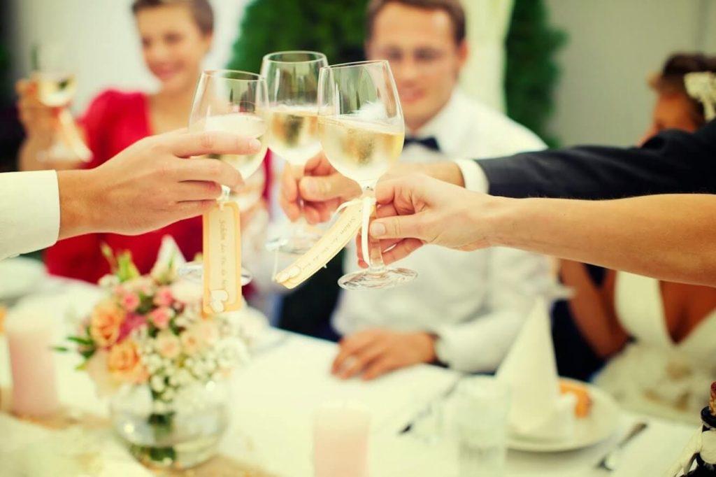 Празднование хрустальной свадьбы