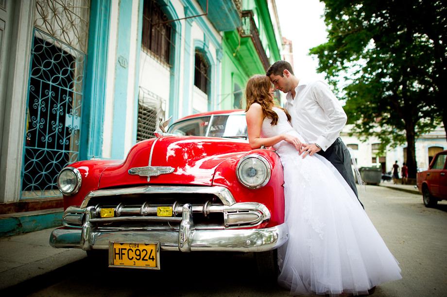 Празднование свадьбы на Кубе