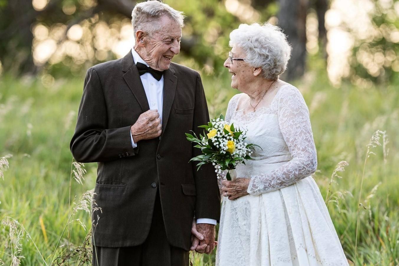 Бриллиантовая свадьба – 60 лет совместной жизни