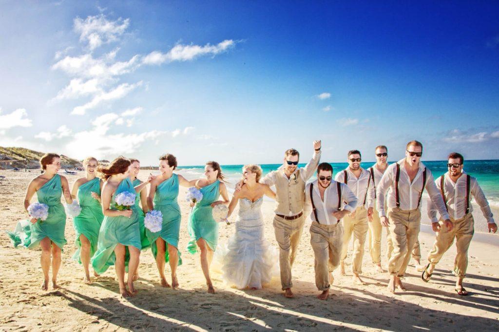 Символическая свадьба на Кубе