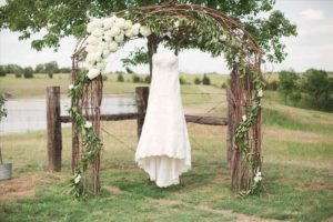 Фото платья на свадьбу в стиле рустик весной