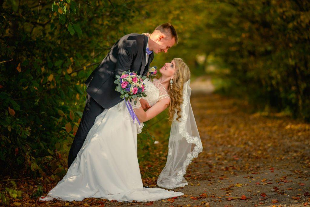 Фото свадьбы на природе