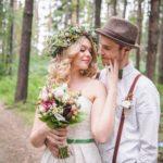 Фотосессия 1 на свадьбе в стиле рустик