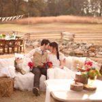 Фотосессия 2 на свадьбе в стиле рустик