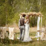 Фотосессия 3 на свадьбе в стиле рустик