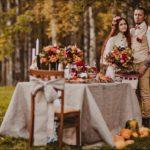 Фотосессия 4 на свадьбе в стиле рустик
