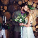 Фотосессия 5 на свадьбе в стиле рустик