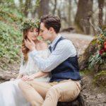 Фотосессия 8 на свадьбе в стиле рустик