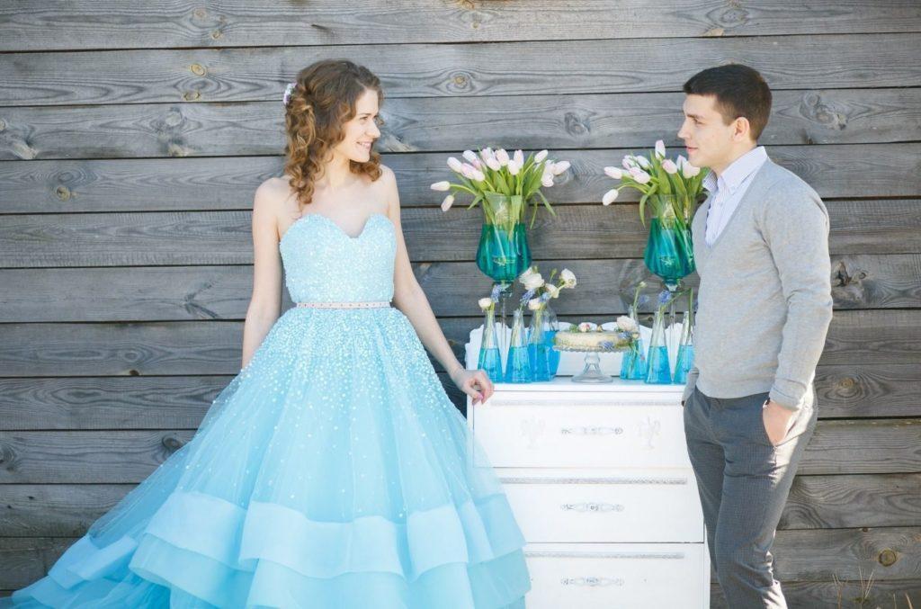 Мелочи бирюзовой свадьбы